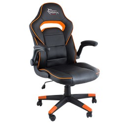 WHITE SHARK GAMING CHAIR SHEBA BLACK ORANGE