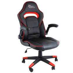 WHITE SHARK GAMING CHAIR SHEBA BLACK RED