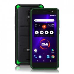 MLS Apollo Black-Green Rugged Smartphone