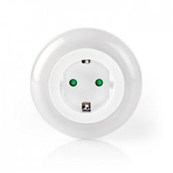 NEDIS LNLGSOCK01 LED Night Light Day/Night Sensor