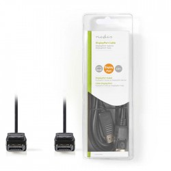 NEDIS CCGB37010BK20 DisplayPort 1.2 Cable DisplayPort Male - DisplayPort Male 2.