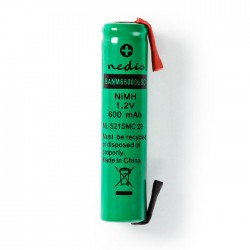 NEDIS BANM65003USC Nickel-Metal Hydride Battery 1.2 V 600 mAh AAA Solder Connect