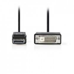NEDIS CCGP37200BK10 DisplayPort - DVI Cable DisplayPort Male - DVI-D 24+1-Pin Ma