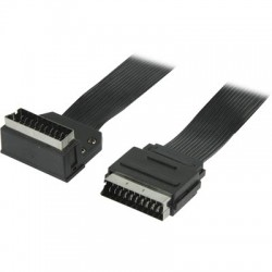 VLVP 31035 B1.00 SCART cable SCART male - SCART male 90°