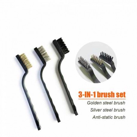 3 in 1 METAL ANTI-STATIC BRUSH MOTHERBOARD CLEANING TOOL