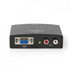 NEDIS VCON3454AT VGA to HDMI Converter 1-Way - VGA + 2x RCA (L/R) Input HDMI Out