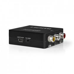 NEDIS VCON3456AT Composite Video to HDMI Converter 1-Way - 3x RCA (RWY) HXDMI Ou