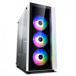 DEEPCOOL MATREXX55 V3 ADD RGB WH 3F COMPUTER CASE WHITE