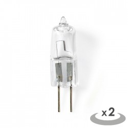 NEDIS HALG4CAP2 Halogen Lamp G4 Capsule 14 W 235 lm 2800 K