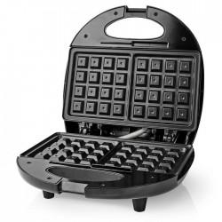 NEDIS KAWP200BK Waffle Plate 750 W Black