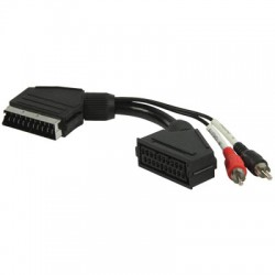 VLVP 31020 B0.20 SCART - RCA adapter