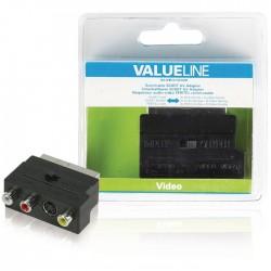 VLVB 31902B SCART male - 3x RCA female
