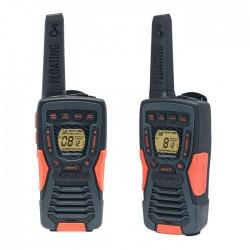 COBRA ΑΜ1035 FLT PMR 12 km Range 8-Channel Black/Orange