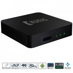 DVB-TS2 4KASB Android Streaming Box with Fly Mouse