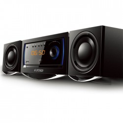 NOD MHS-001BL Mini Hi-Fi System with CD,USB, bluetooth and Blue LED