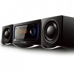NOD MHS-001BL Mini Hi-Fi System with CD,USB, bluetooth and Blue LED