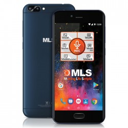 MLS DX 4G Blue Dual Camera Dual SIM 33.ML.530.280