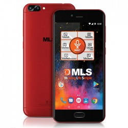 MLS DX 4G Red Dual Camera Dual SIM 33.ML.530.281