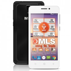 MLS TREND 4G BLACK WHITE DUAL SIM