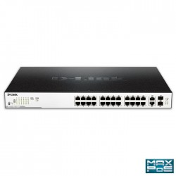 D-LINK DGS-1100-26MP MAX POE EASYSMART MANAGED GIGABIT 24 x POE, 370W