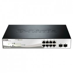 D-LINK DGS-1210-10P POE SMART MANAGED GIGABIT WITH 2xSFP