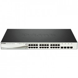 D-LINK DGS-1210-24P POE GIGABIT SMART MANAGED, 24xPoE, 4xCombo Gigabit/SFP