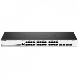D-LINK DGS-1210-28/ME METRO ETHERNET SWITCH GIGABIT 4xSFP