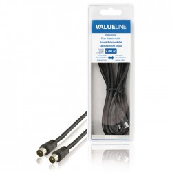VLSB 40200B 2.00 cable coax male - coax male