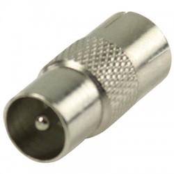 VLSP 40942M Coax coupler coax male - coax female metal