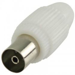 VLSP 40923W Coax connectors coax female white