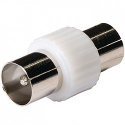 KNS 40940W Coax coupler coax male - male