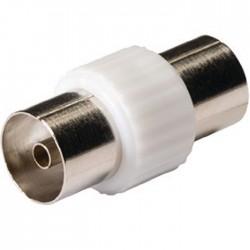 KNS 40941W Coax coupler coax female - female