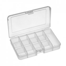 RND 550-00101 - Assortment Box, 163x112x31mm, Clear