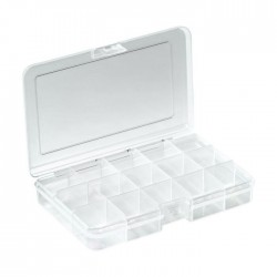 RND 550-00102 - Assortment Box, 163x112x31mm, Clear, RND Lab
