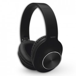 NOD PLAYLIST BLACK BLUETOOTH FOLDABLE HEADPHONES