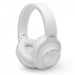 NOD PLAYLIST WHITE BLUETOOTH FOLDABLE HEADPHONES
