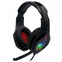 NOD IRON ΣOUND v2 GAMING HEADSET, WITH RUNNING RGB & ADAPTER