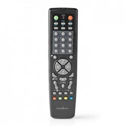 NEDIS TVRC2200BK Universal Remote Control Preprogrammed Control 10 Devices