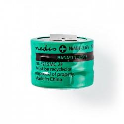 NEDIS BANM1170SC3 Nickel-Metal Hydride Battery 3.6 V 170 mAh Solder Connector