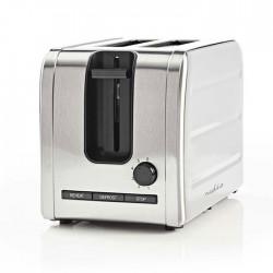 NEDIS KABT210EAL Toaster 2 Wide Slots Stainless Steel