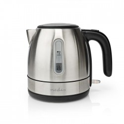 NEDIS KAWK300EAL Electric Kettle 1 L 360° Rotation Stainless Steel