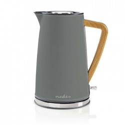 NEDIS KAWK510EGY Electric Kettle 1.7 L Soft-Touch Grey