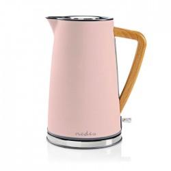 NEDIS KAWK510EPK Electric Kettle 1.7 L Soft-Touch Pink