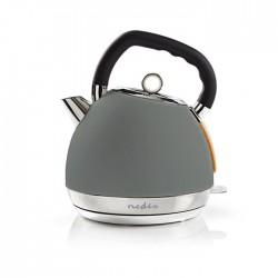 NEDIS KAWK520EGY Electric Kettle 1.8 L Soft-Touch Grey