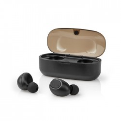 NEDIS HPBT5052BK Fully Wireless Bluetooth Earphones 5 Hours Playtime Voice Contr