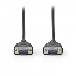 NEDIS CCGT59000BK20 VGA Cable VGA Male VGA Male 2.0 m Black