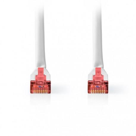 NEDIS CCGT85221WT10 Network Cable CAT6 S/FTP RJ45 Male RJ45 Male 1.0 m White