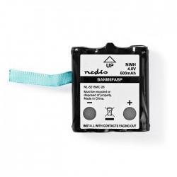 NEDIS BANM6FABP Nickel-Metal Hydride Battery 4.8 V 600 mAh