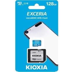 KIOXIA MICRO SD 128GB WITH ADAPTER UHS I U1 (M203)