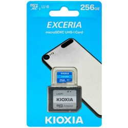 KIOXIA MICRO SD 256GB WITH ADAPTER UHS I U1 (M203)
